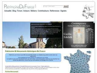 Le patrimoine de France, peu de pays possèdent un aussi grand nombre de monuments que la France, aucun n\'en a de plus variés de style et de caractère. Redécouvrez avec patrimoine de France les richesses monumenales du pays.